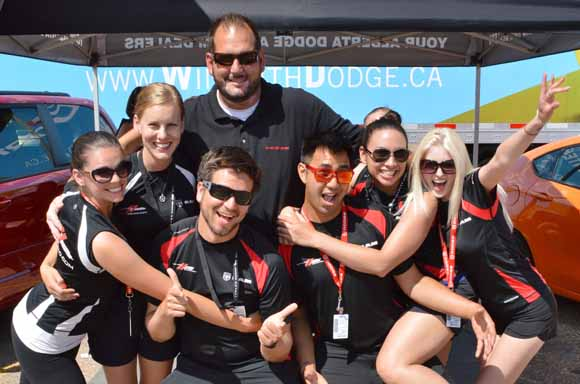 Capital Dodge Edmonton >> Dodge Squad Doing Good Things